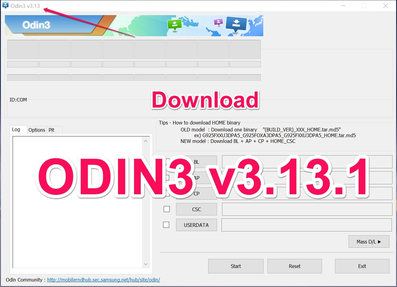 download odin 2018